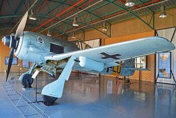 German Focke-Wulf, South African National Museum of Military History in Saxonwold, Johannesburg