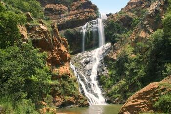 Witpoortjie Falls at the Walter Sisulu National Botanic Garden, Johannesburg